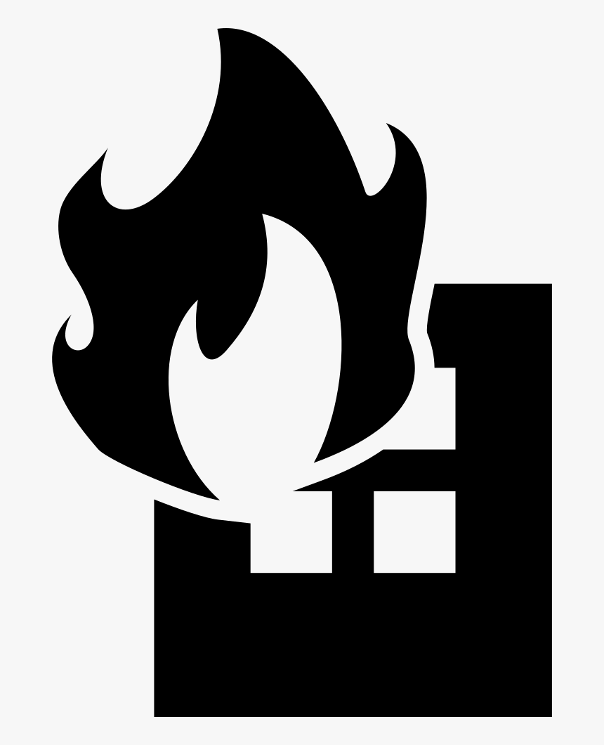 Building On Fire Png - Fire Building Vector Png, Transparent Png, Free Download
