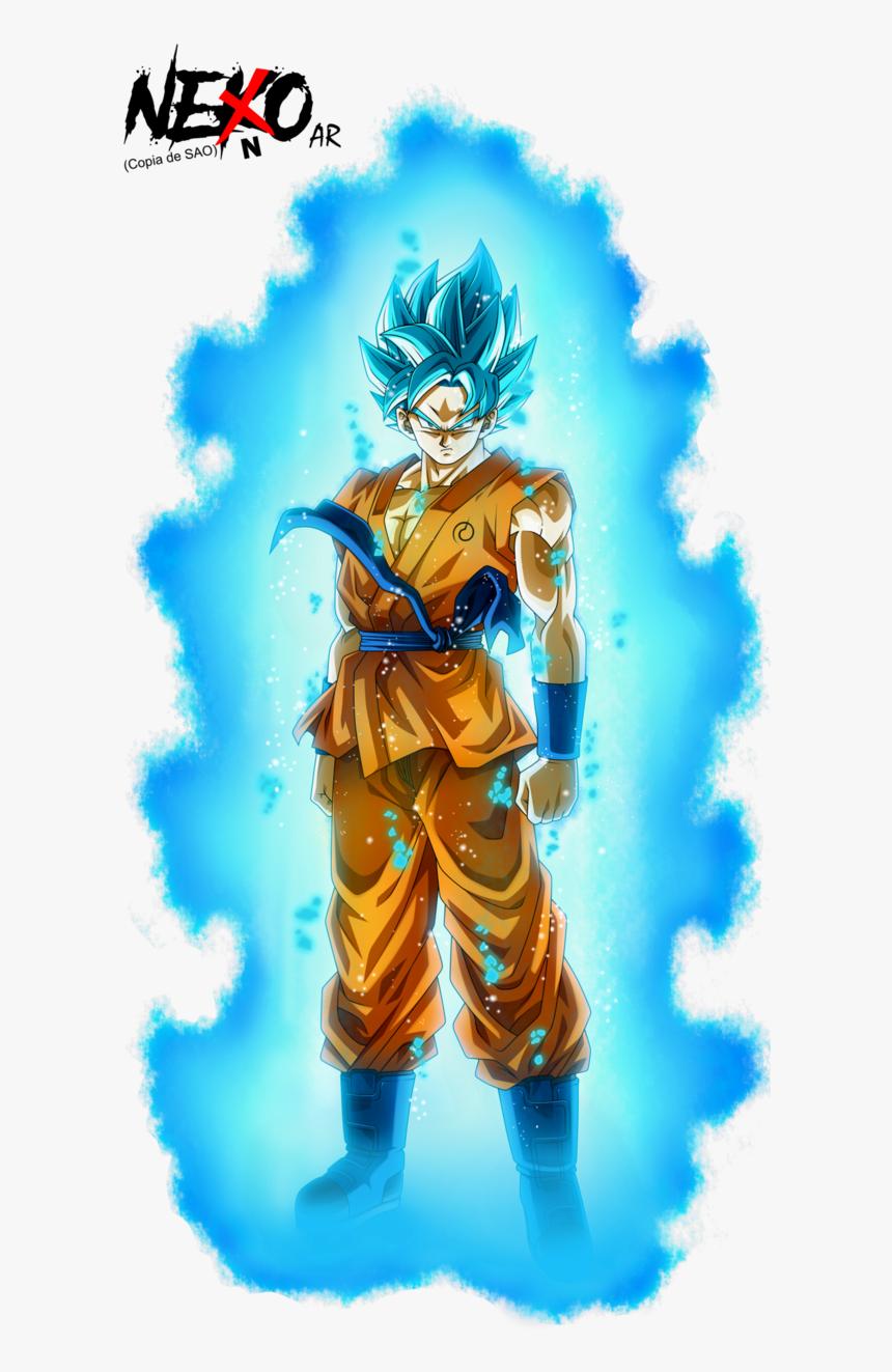 Goku Super Saiyan Blue Aura, HD Png Download, Free Download