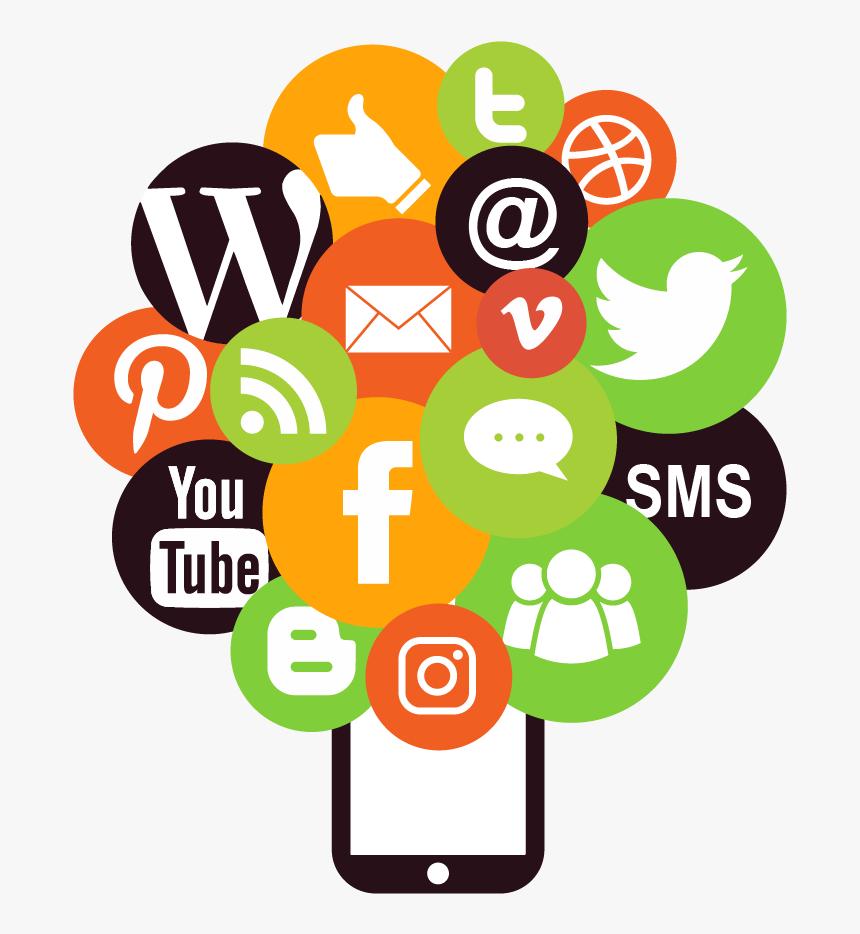 Facebook And Instagram Social Media Marketing Icon - Social Media Marketing Icon, HD Png Download, Free Download