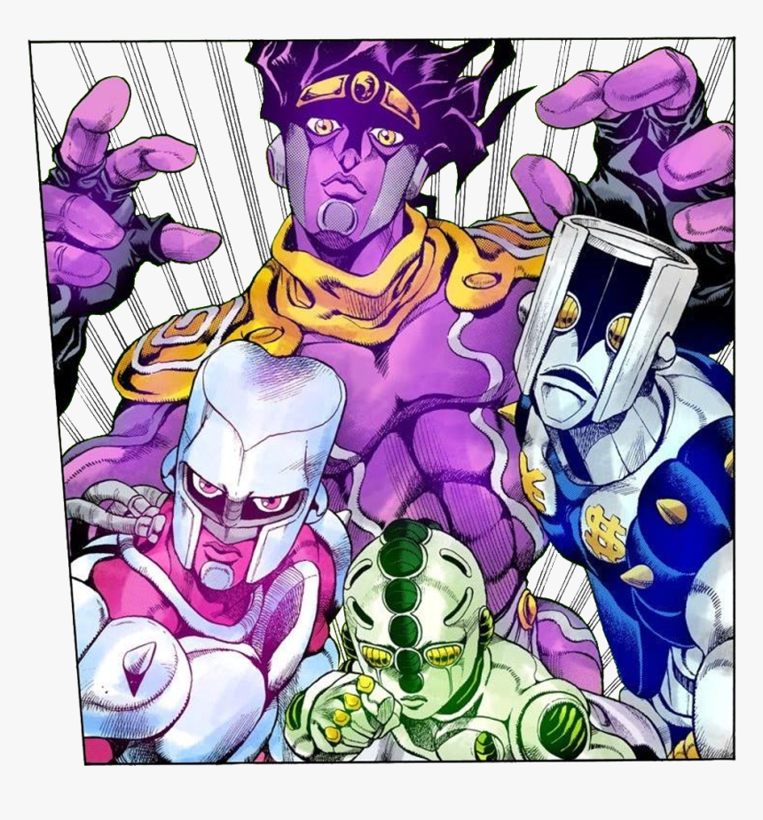Star Platinum And Crazy Diamond Hd Png Download Kindpng Reimi doesn't have that tuft of hair on her forehead in this couple of frames: star platinum and crazy diamond hd png