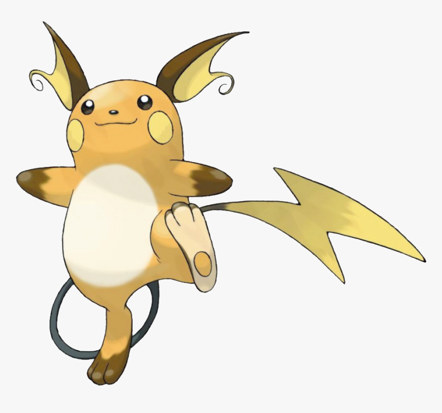 Pokemon Raichu Hd Png Download Kindpng