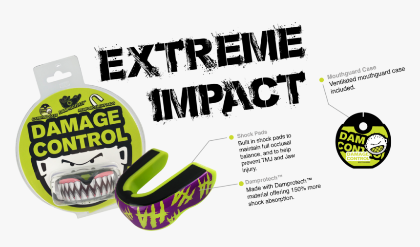 Damage Control Mouthguard, HD Png Download, Free Download