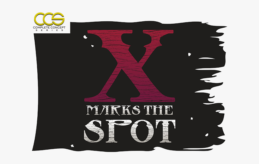 X Marks The Spot Branding Ccs - X Marks The Spot Band, HD Png Download, Free Download