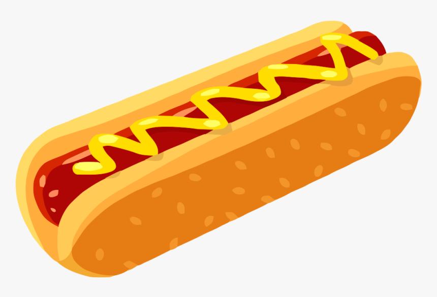 Hot Dog - Hot Dog Vector Png, Transparent Png, Free Download