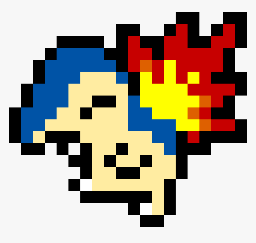 Transparent Cyndaquil Png Easy Pokemon Pixel Art Minecraft Png