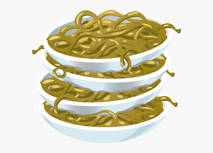 Fried Noodles Svg Clip Arts - Gambar Sisa Makanan Animasi, HD Png Download, Free Download