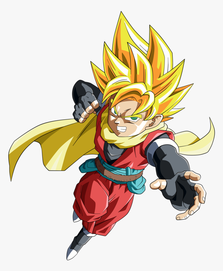 Watch Dragon Ball Super Clipart With A Transparent - Goten Dragon Ball Heroes, HD Png Download, Free Download