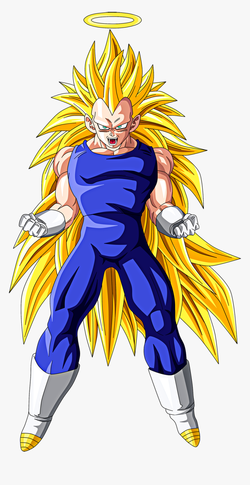 Dragon Ball Z Characters Vegeta - Dragon Ball Vegeta Ssj3, HD Png Download, Free Download