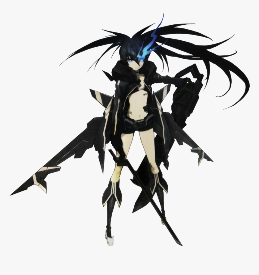 Dragon Ball Wiki - Black Rock Shooter The Game Character, HD Png Download, Free Download