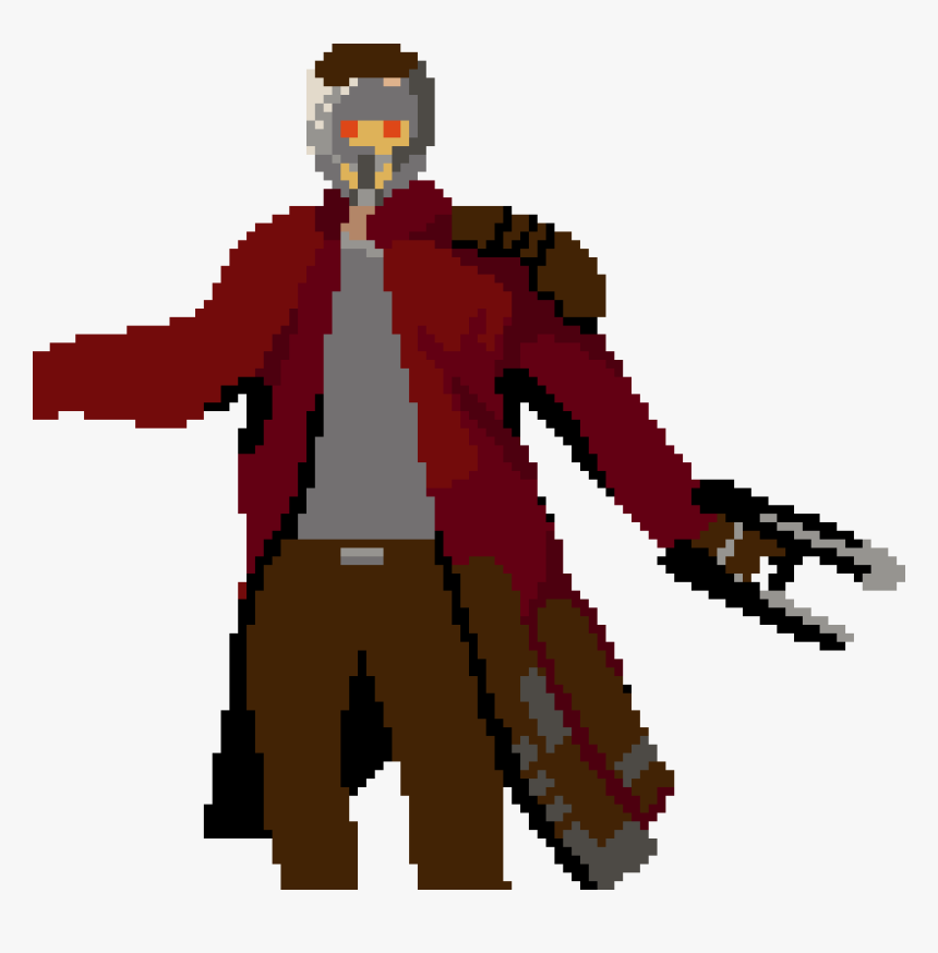 Pixel Starlord, HD Png Download, Free Download