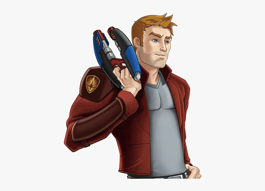 Guardians Of The Galaxy Animated Series Star Lord, HD Png Download, Free Download