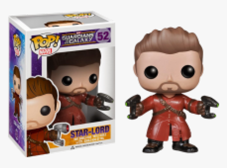 Fun4013 Guardians Of The Galaxy Star Lord Excl Pop - Guardians Of The Galaxy 1 Funko Pop, HD Png Download, Free Download
