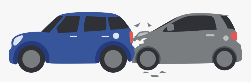 Rear End Collision - City Car, HD Png Download, Free Download