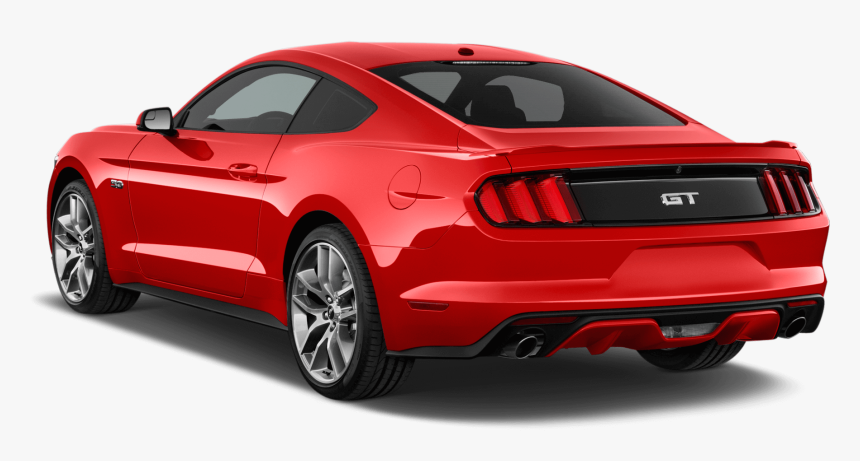 2017 Ford Mustang Gt - 2017 Ford Mustang Gt Rear, HD Png Download, Free Download