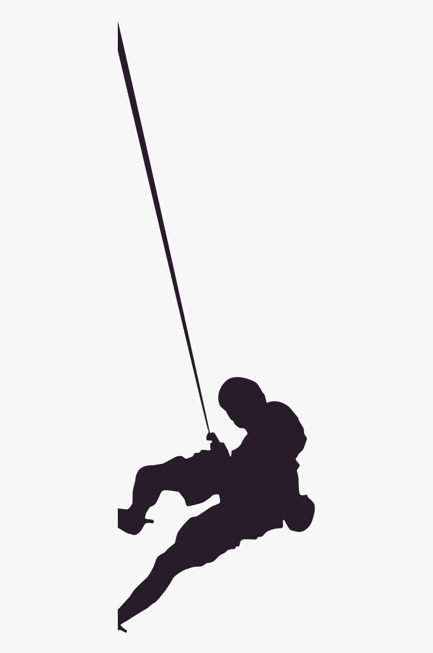 Rappeller - Mountain Climber, HD Png Download, Free Download