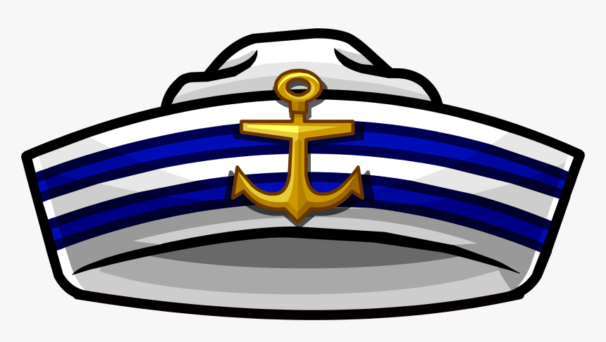 Collection Of Sailor - Sailor Hat Clipart Png, Transparent Png, Free Download