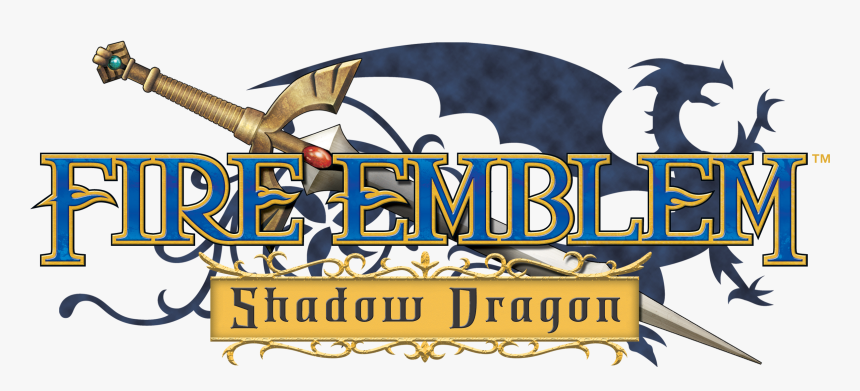 Fire Emblem Logo Png -fire Emblem Logo Png - Fire Emblem Shadow Dragon Logo, Transparent Png, Free Download