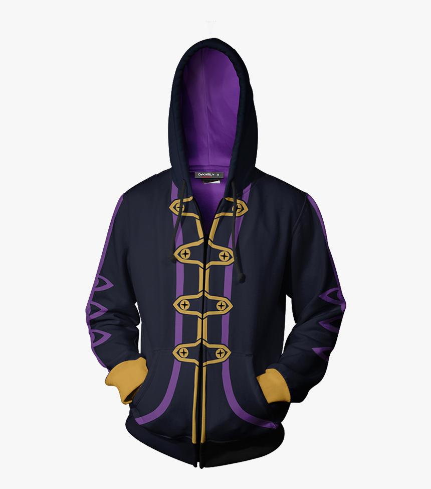 Fire Emblem Robin Cosplay Zip Up Hoodie Jacket, HD Png Download, Free Download