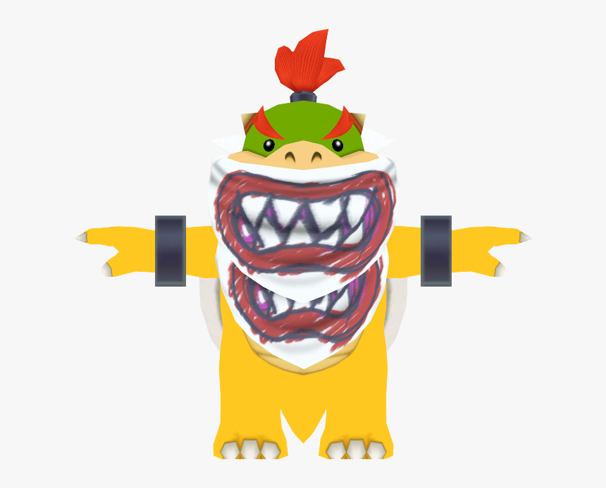 Download Zip Archive Bowser Jr Mask Hd Png Download Kindpng
