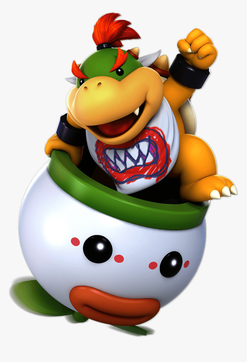 Super Smash Bros Ultimate Bowser Jr Hd Png Download Kindpng