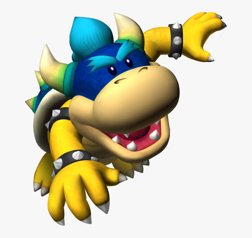 Blue Koopa Kid Mario Party Mini Bowser Hd Png Download