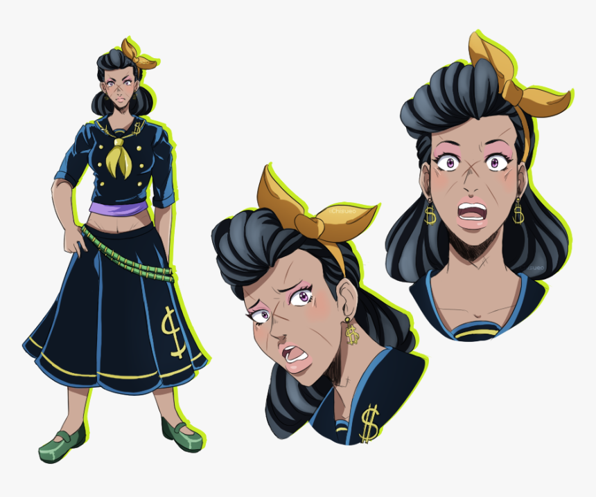 Png Image With Transparent Background - Rohan At The Louvre Josuke, Png Download, Free Download