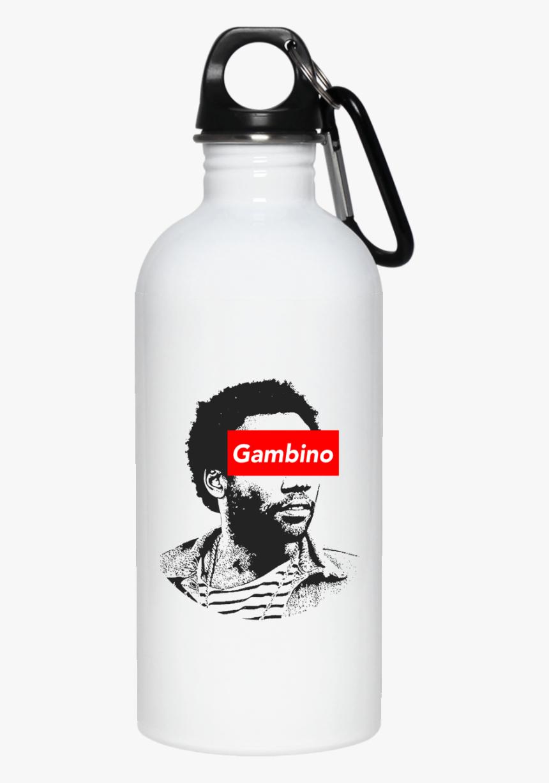 Childish Gambino Art 23663 20 Oz - Water Bottle, HD Png Download, Free Download