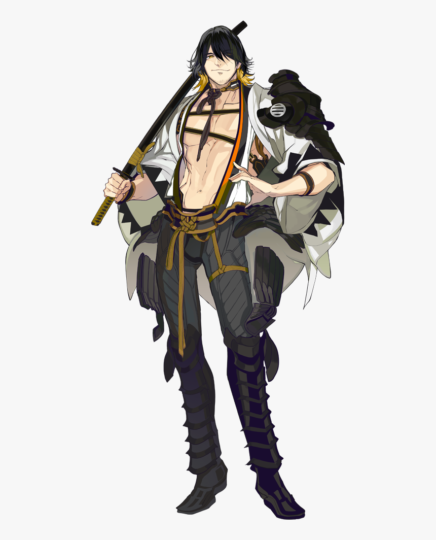 Hd Anime Characters Png 398395 , Free Unlimited Download - Touken Ranbu Nagasone Kotetsu, Transparent Png, Free Download