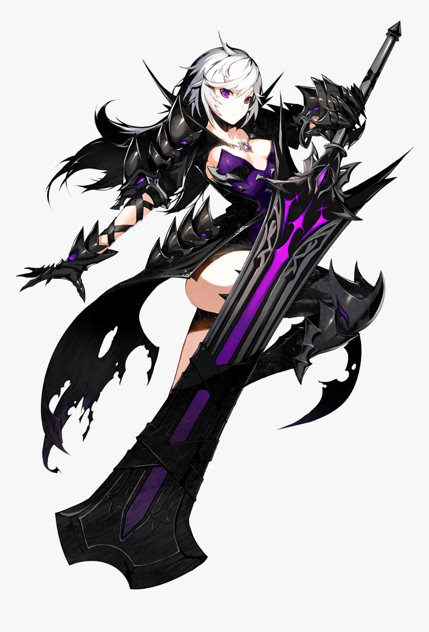 Transparent Anime Characters Png - Closers Violet Splendor Of Darkness, Png Download, Free Download