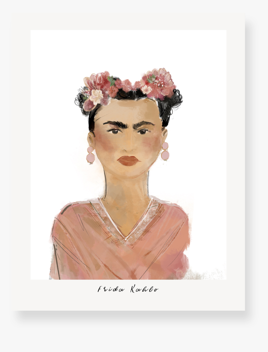 Frida Khalo - Headpiece, HD Png Download, Free Download