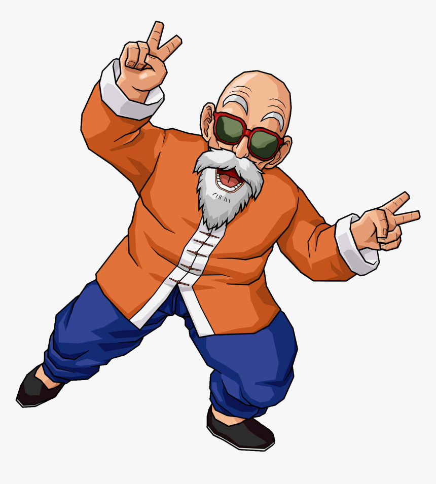Dragon Ball Z Old Man, HD Png Download, Free Download