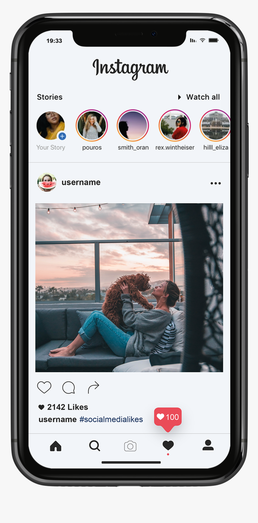 Usa Instagram Likes Fast, HD Png Download, Free Download