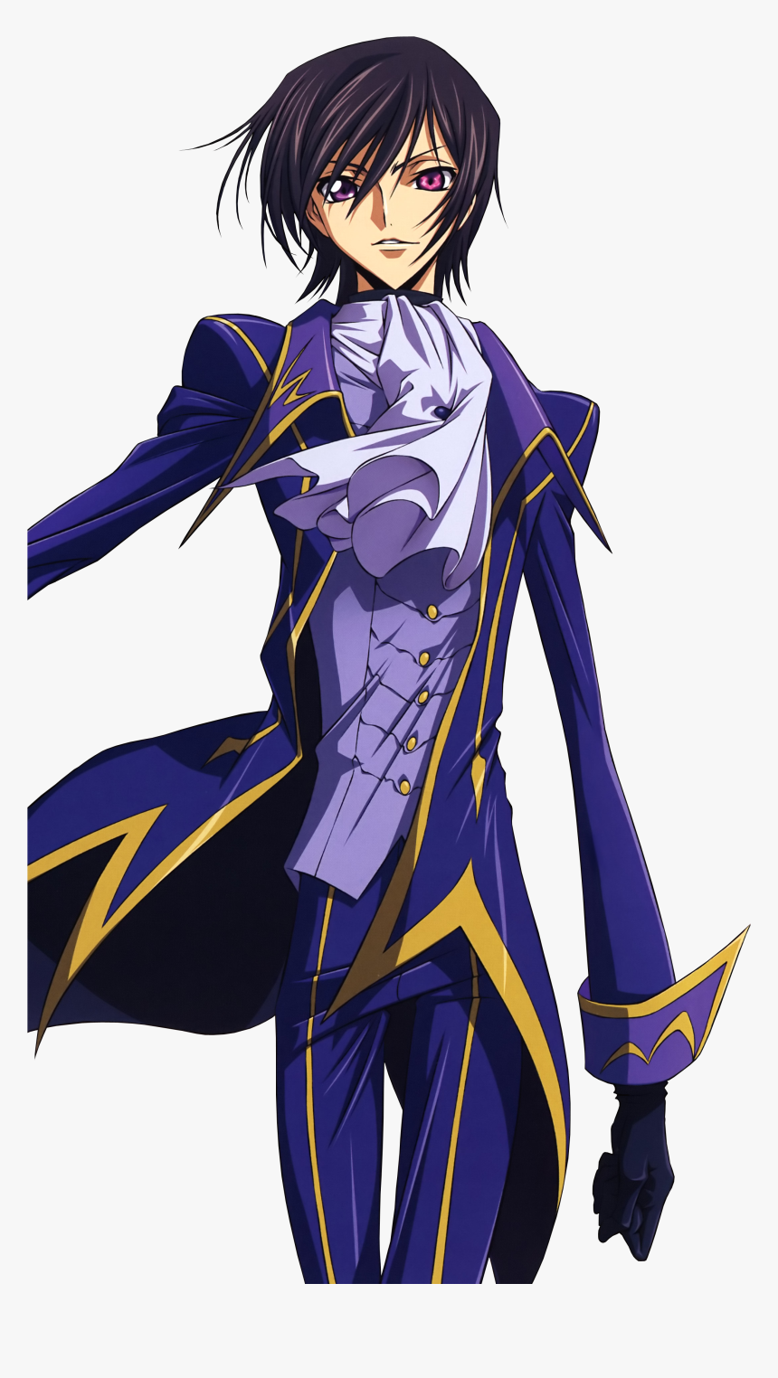 Lelouch Lamperouge Best Character In Anime History - Lelouch Vi Britannia Png, Transparent Png, Free Download