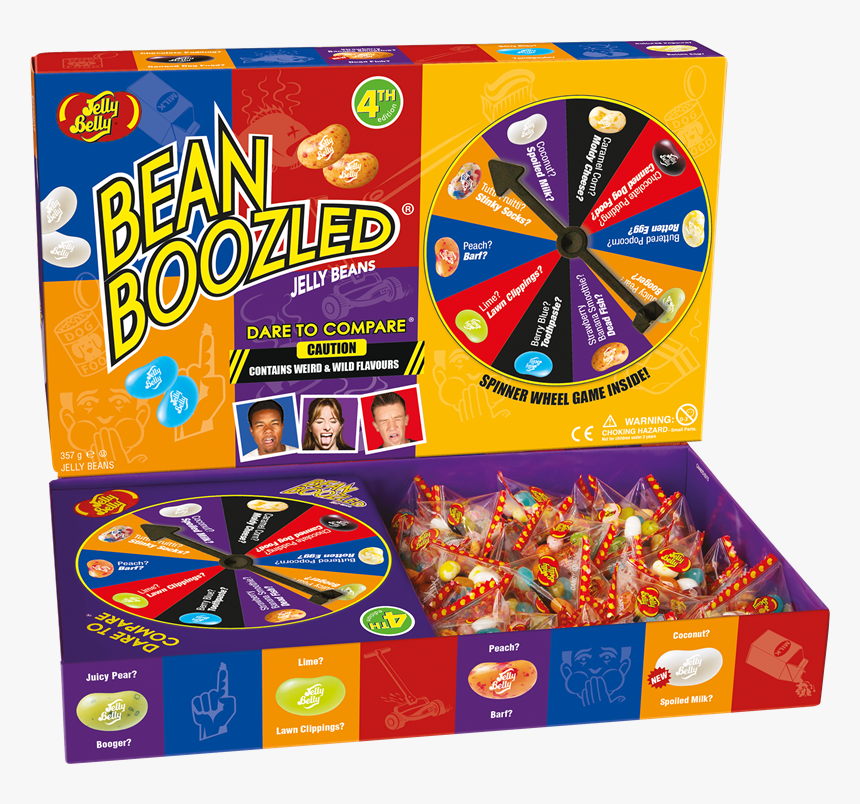 Jelly Belly Bean Boozled Jumbo Box - Bean Boozled Game, HD Png Download, Free Download