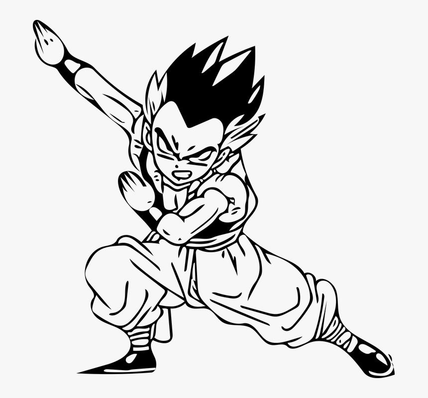 Anime, Animation, Cartoon Character, Cartoon Network - Dragon Ball Para Colorir, HD Png Download, Free Download