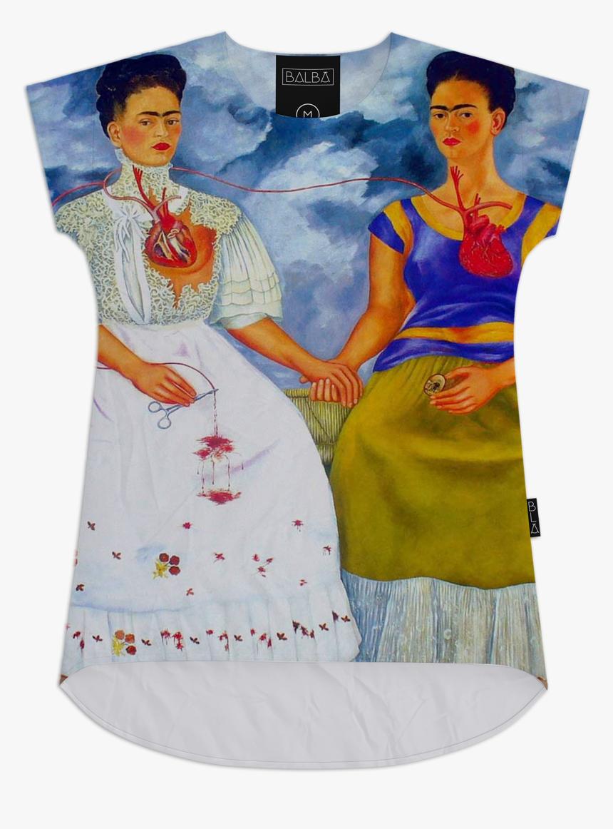 Frida Kahlo The Two Fridas , Png Download - Frida Kahlo Magical Realism Art, Transparent Png, Free Download