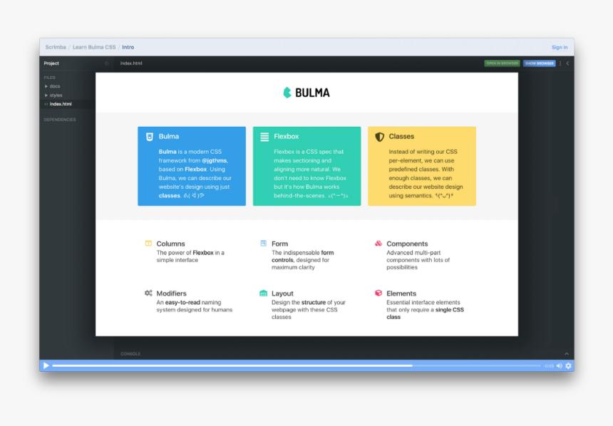Bulma Example, HD Png Download, Free Download