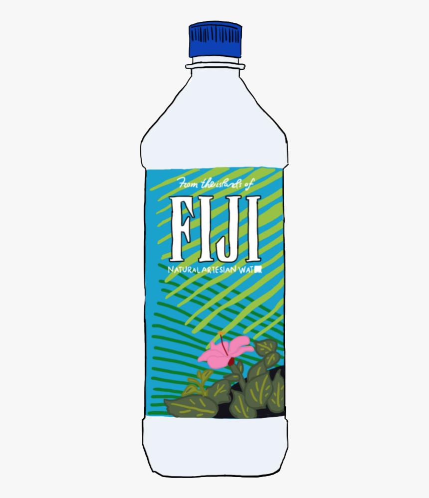 Tumblr Sticker By Venus Fiji Water Bottle Transparent