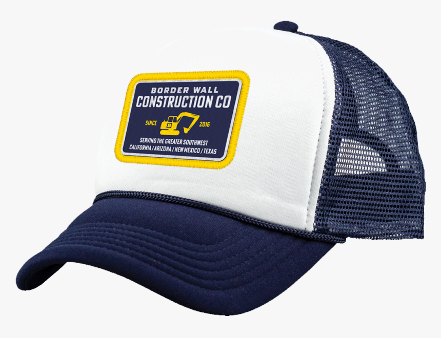 Border Wall Construction Company Hat - Construction Company Hat, HD Png Download, Free Download