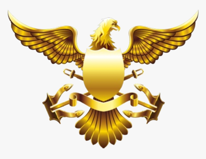 Image Freeuse Stock Golden American Falcon Transprent - Gold Eagle Png, Transparent Png, Free Download