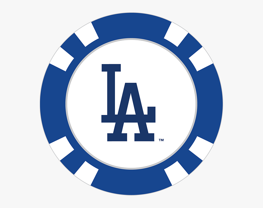 Los Angeles Dodgers Poker Chip Ball Marker - New England Patriots Logo Circle, HD Png Download, Free Download