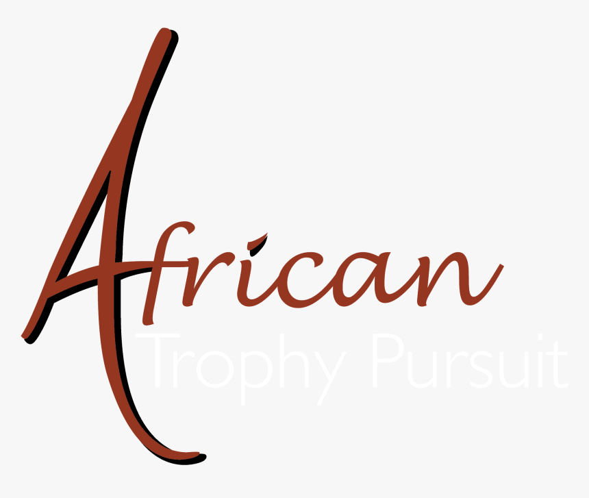 African Hunting Safari With African Trophy Pursuit - Calligraphy, HD Png Download, Free Download