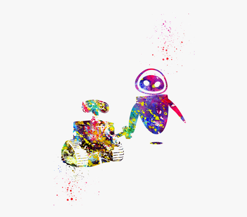 Walle And Eve Art, HD Png Download, Free Download