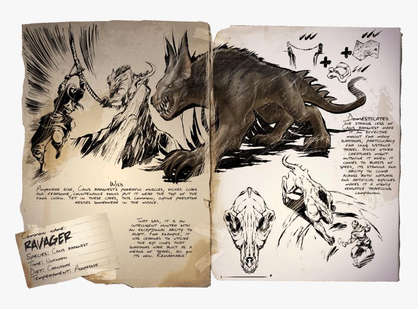 Dossier Ravager - Ark Survival Evolved Ravager, HD Png Download, Free Download