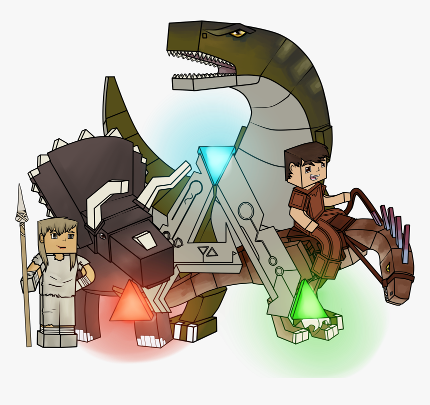 Survival Clipart Mapping - Ark Craft Mod Minecraft, HD Png Download, Free Download