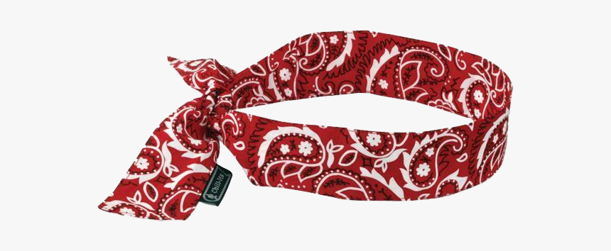Red Bandana Png Tied, Transparent Png, Free Download