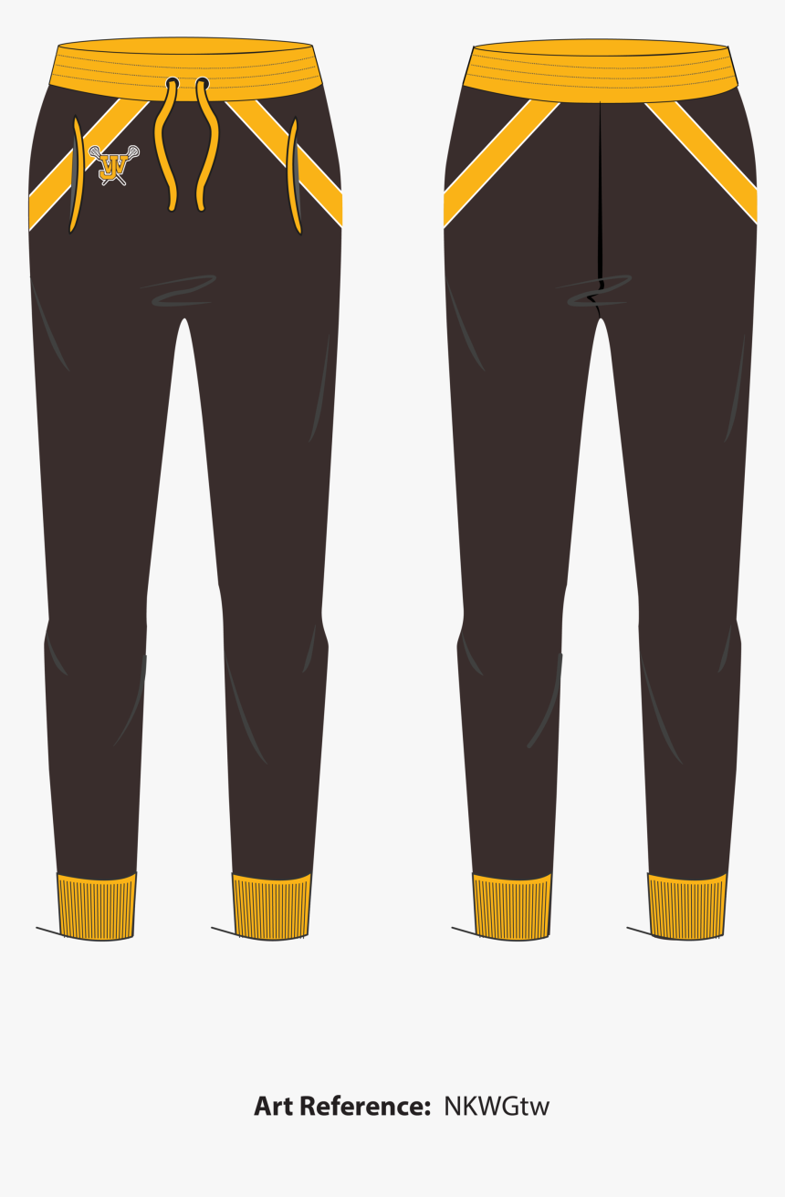 West Jeff Youth Rider Lacrosse Joggers - Pocket, HD Png Download, Free Download