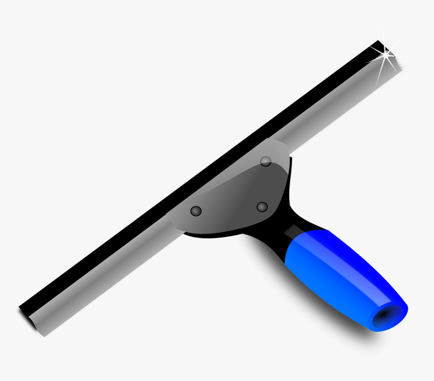 How To Take Care Of Your Construction Tools - Squeegee Clip Art, HD Png Download, Free Download