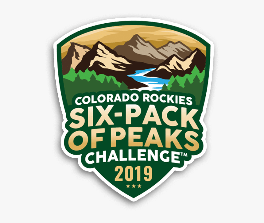 2019 Colorado Six-pack Of Peaks Challenge - Emblem, HD Png Download, Free Download