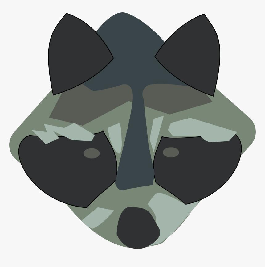 Racoon Svg Clip Arts - Raccoon Clip Art, HD Png Download, Free Download